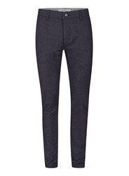 Topman Blue Textured Stretch Skinny Pants