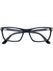 Tom Ford Eyewear Square Frame Optical Glasses Men Acetate 56 Black