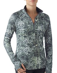Prismsport Printed Thumbhole Active Top