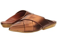 Missoni Pointed Mule Bronze Women's Shoes