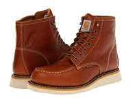 Carhartt 6 Moc Toe Wedge Boot Tan Men's Work Boots