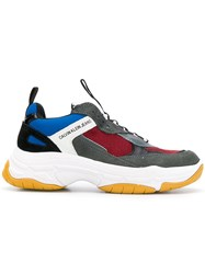 Calvin Klein Jeans Colour Block Sneakers Red
