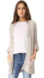Cupcakes And Cashmere Mobeal Cardigan Soft Taupe