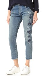 Citizens Of Humanity Emerson Slim Fit Boyfriend Jeans Vibe Western Roses