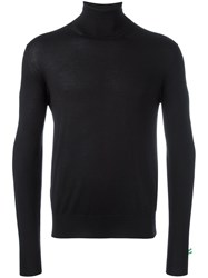 Cruciani Turtle Neck Jumper Black