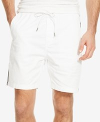 Kenneth Cole New York Men's Galloway Drawstring Shorts White