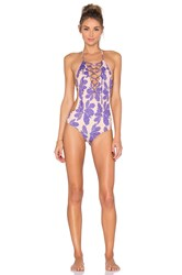 Ellejay Leblon Swimsuit Purple