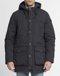 Rvca Black Waterproof Deck Parka