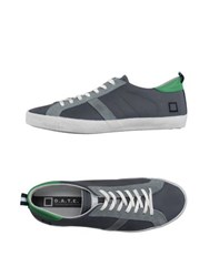 D.A.T.E. Footwear Low Tops And Trainers Men Grey