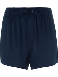 Alexander Wang Drawstring Shorts Blue
