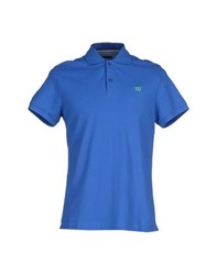 Henry Cotton's Topwear Polo Shirts Men Blue