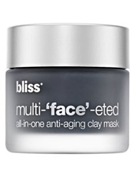 Bliss Multi 'Face' Eted All In One Anti Aging Clay Mask 2.3 Oz. No Color
