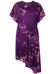 Damir Doma Dale Dress Pink And Purple