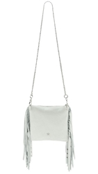 Ash Tyler Cross Body Clutch Off White