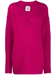Semicouture V Neck Jumper 60