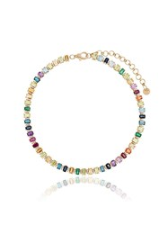 Shay Yg Rainbow Mul Gem Stone Choker Multicoloured