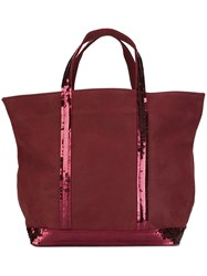 Vanessa Bruno Double Handles Large Tote Red