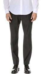 Club Monaco Crepe Elastic Dress Pants Black
