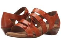 Softspots Reading Poppy Orange Montana Women's 1 2 Inch Heel Shoes Brown