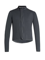 Cafe Du Cycliste Charlotte Waterproof Cycle Jacket Dark Grey