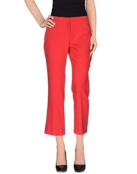 Erika Cavallini Semi Couture Erika Cavallini Semicouture Trousers Casual Trousers Women Red