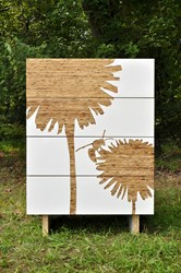 Iannone Design Dandelion Tall Graphic Dresser