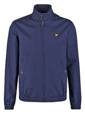 Lyle And Scott Summer Jacket Navy Dark Blue
