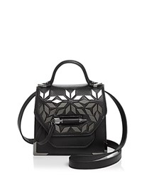 Mackage Rubie Mini Crossbody Black Gunmetal