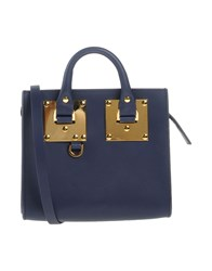 Sophie Hulme Handbags Dark Blue