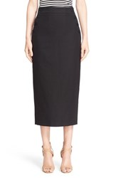 Women's Max Mara 'March' Stretch Cotton Pencil Skirt
