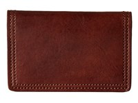 Bosca Dolce Collection Calling Card Case Dark Brown Credit Card Wallet