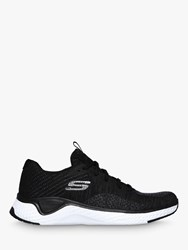 Skechers Solar Lace Up Trainers Black White