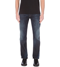 G Star 3301 Loose Fit Straight Jeans Dk Aged