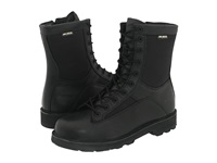 Bates Footwear 8 Durashocks Lace To Toe Side Zip Black Men's Work Boots