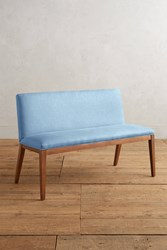 Anthropologie Linen Emrys Bench Sky