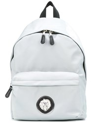Versus Logo Backpack Grey