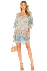 Spell And The Gypsy Collective Oasis Mini Dress Tan