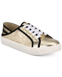 Bebe Dacia Sneakers Gold Black