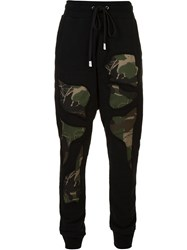 Haculla Camouflage Details Track Pants Black