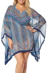 Jessica Simpson Plus Size Women's Cover Up Tunic