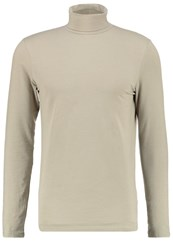 New Look Long Sleeved Top Light Khaki Beige