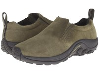 Merrell Jungle Moc Dusty Olive Suede Slip On Shoes