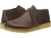Clarks Desert Trek Beeswax Leather Men's Lace Up Boots Brown