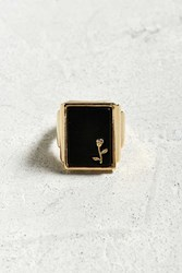 Urban Outfitters Rose Ring Gold