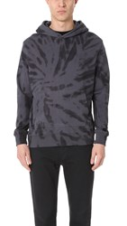 Ovadia And Sons Tie Dye Hoodie Black