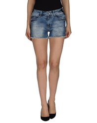 Fornarina Denim Shorts Blue