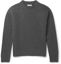 Balenciaga Blizzard Wool Blend Sweater Charcoal