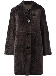 Sylvie Schimmel 'Castille Raw' Coat Brown