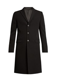 Givenchy Wing Applique Tailored Wool Jacket Black