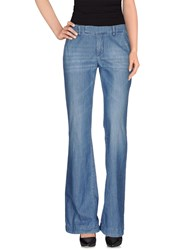 Dondup Denim Denim Trousers Women Blue